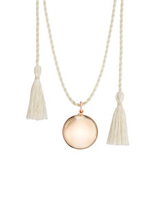 Collier Bola de grossesse or rose  BOLAS OR ROSE / 17PCDC011APD954