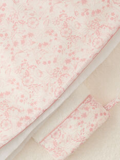 Cape de bain et gant de toilette fille imprimé floral ALANIBAIN 20 / 20PV5911N73114