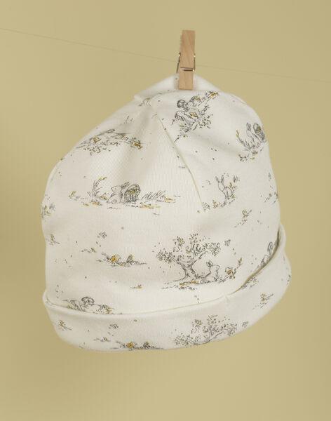 Bonnet de naissance imprimé mixte TATOU 19 / 19PV7021N63114