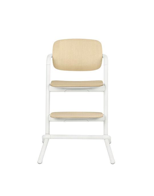 Chaise haute Lemo blanche CHH BOIS BLANC / 18PRR2002CHH000