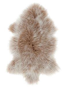 Tapis en peau de mouton naturelle marron TAP PEAU MOUTON / 18PCDC035APD999