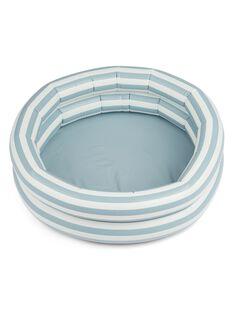 Piscine leonore raye sea blue et creme PIS LEO BLU CRE / 21PJJO007GJO999