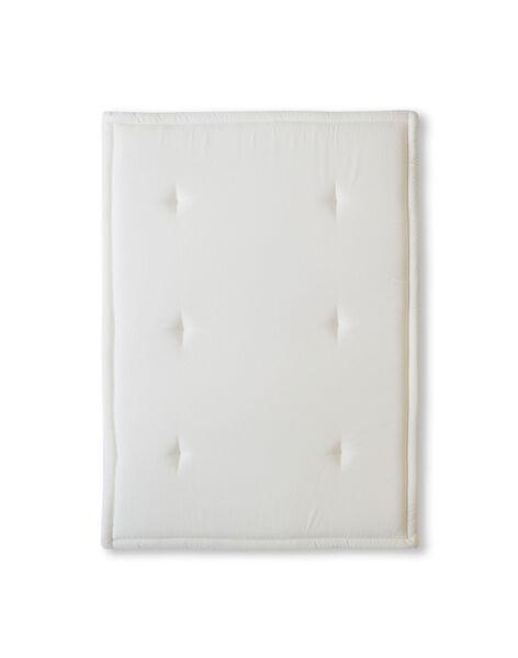 Tapis d eveil 65x90cm blanc casse TE 65X90 BLANC / 20PJJO007TEVA001