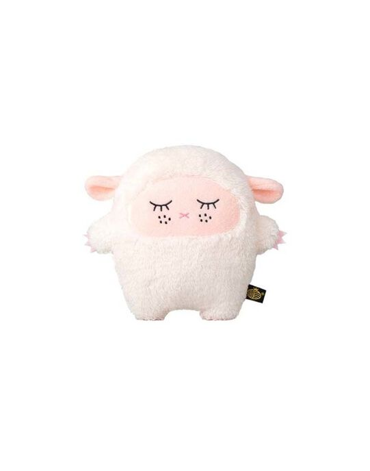 Peluche Ricemere NOODOLL rose et blanche   RICEMERE PINK / 17PJPE040PPE999