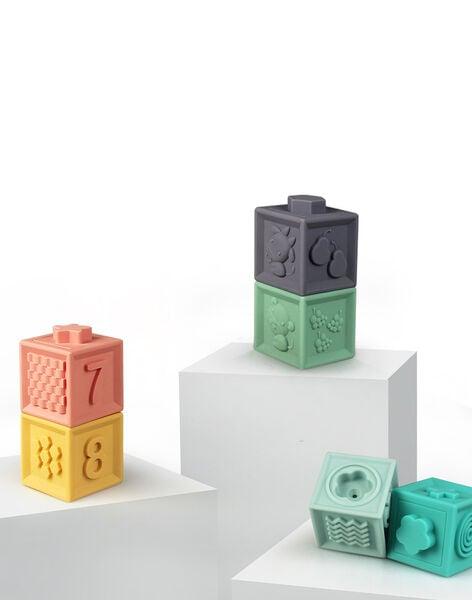 Cubes éducatifs Baby to Love multicolores 20x21x6 cm dès 6 mois CUBES EDUCATIFS / 19PJJO012AJV999