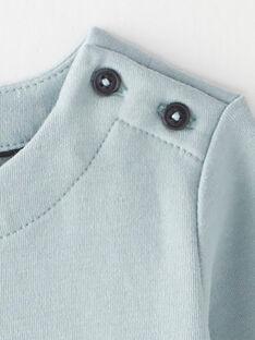 Tee shirt manche longue sauge garçon BRIAN 20 / 20IU2082N0FG610