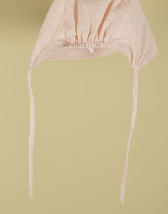 Chapeau de soleil rose fille TELOUISE 19 / 19VV6871N55D300