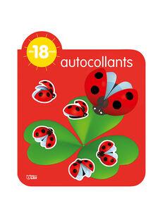 Carnet autocollant Coccinelle 18 mois CARNET COCCI18M / 17PJME001LIB050