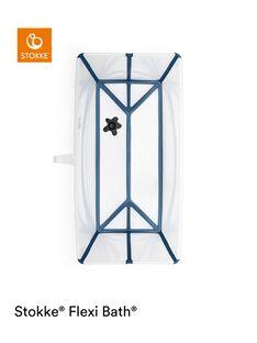 Baignoire flexibath transparente bleue FLEXIBATH TRANS / 20PSSO003BAI960