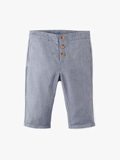 Pantalon coupe droite ardoise garçon  ADRI 20 / 20VU2021N03C203