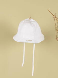 Chapeau petit soleil blanc garçon TEDYCHA 19 / 19VV6972N55000
