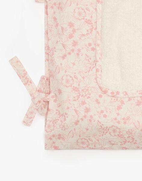 Housse de matelas à langer fille imprimé floral ALANILANGE 20 / 20PV5912N75114