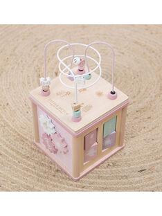Cube d activites rose CUBE ACT ROSE / 20PJJO008JBO999