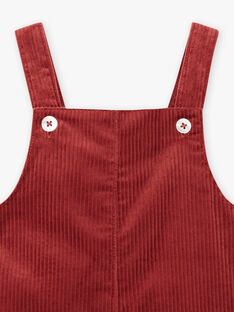 Salopette cranberry bébé fille DANIELLE 21 / 21IU1913N26D304