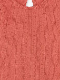 Body Manches Longues Terracotta CLARENCE 21 / 21VU1911N69E415