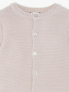 Gilet tricot mixte noix coton laine mérinos  DAMOUSSE 21 / 21PV2414N12I812