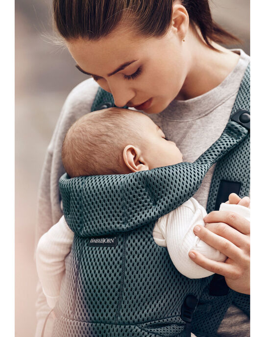 Porte bebe move vert sauge mesh babybjorn PBB MOVE SAUGE / 20PBDP002PBBG610
