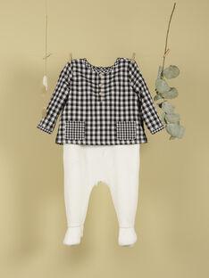 Pyjama bi-matière vanille garçon TAEL 19 / 19VX6668N32114