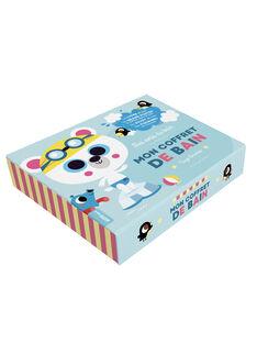 Mon coffret de bain Auzou bleu 27x22,7x5,2 cm dès 1 an COFFRET BAIN / 19PJME004LIB999