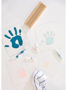 Cadre transparent 4 empreintes family prints CADRE 4 EMPREIN / 21PCDC011APD961