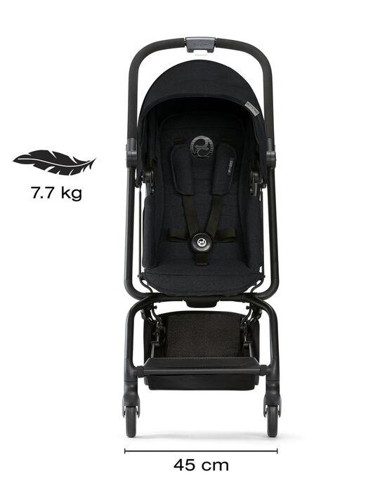 Poussette EEZY S TWIST Lavastone noire EEZY S TWIST BL / 18PBPO001PCE090