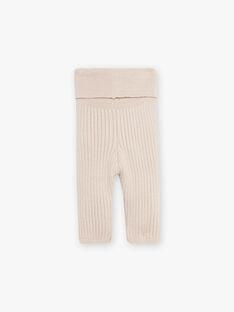 Pantalon tricot mixte noix en côtes DINAMO 21 / 21PV2413N3AI812