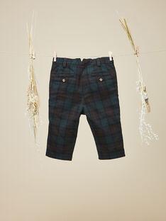Pantalon à carreaux garçon  VICOMTE 19 / 19IU2032N03608
