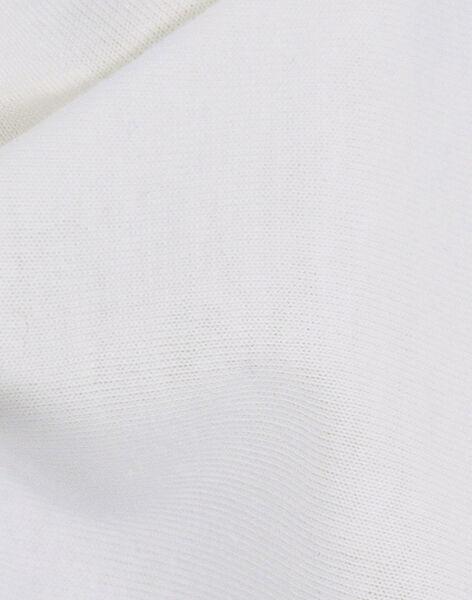 Drap-housse en coton bio Kadolis blanc 70x140 cm 0-6 ans DRA HOUS BL 70 / 19PCTE003DRA000