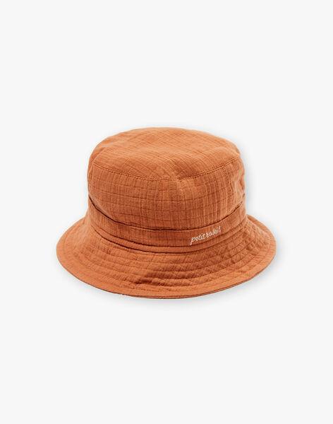 Chapeau garçon couleur pécan CLOONEY 21 / 21VU6121N84I821