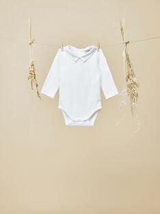 Body manches longues blanc garçon   VIKO 19 / 19IV2314N29000