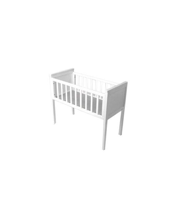 Berceau Eva Troll blanc 95,5x45,5x77,5 cm (0-4 mois) BERCEAU EVA BLC / 09PCMB003BRC999
