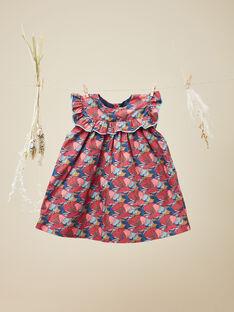 Robe chasuble avec bloomer en Liberty fille  VELIDIANE 19 / 19IU1912N18099