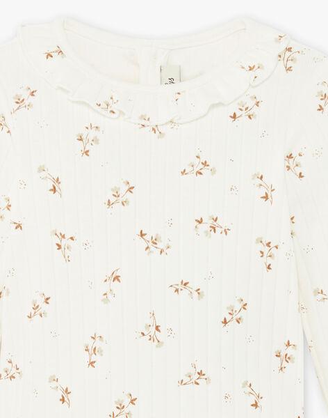 Body imprimé fleurs coton biologique DAHINA 21 / 21IU1911N29114