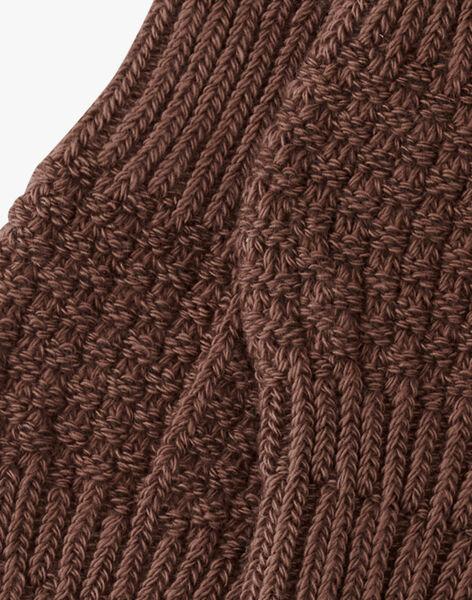 Chaussettes mixte taupe en tricot AUDINE 20 / 20PV7016N47803