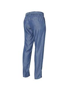 Pantalon de grossesse ample bleu MLLYDIA PANT / 19VW2681N03704