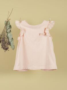 T-shirt sans manches rose fille TEVELYNE 19 / 19VU1931N0ED300