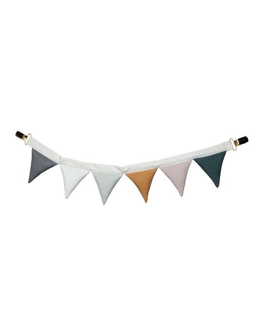 Guirlande de fanions poussette Fabelab multicolores 50 cm 0-1 an GUIRLAND FANION / 19PJJO019AJV999