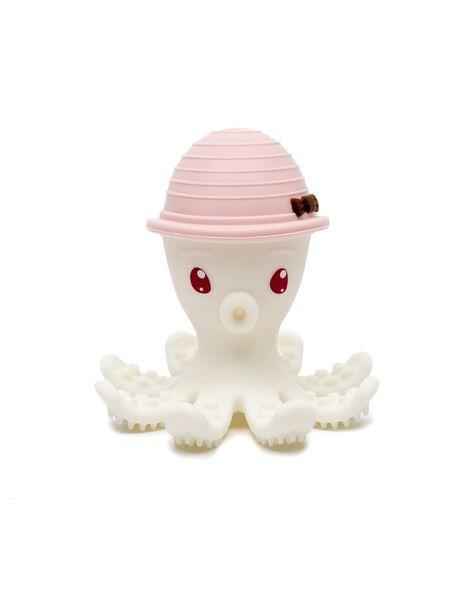 Jouet de dentition bonnie la pieuvre rose pale JOU DEN PIE ROS / 21PJJO005DEN301