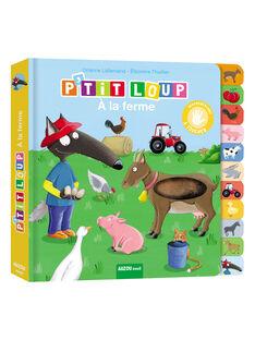 Livre à toucher P'tit Loup à la ferme PTIT LOUP FERME / 18PJME003LIB999