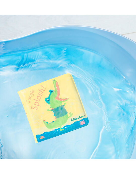 Livre de bain Anatole Lilliputiens multicolore 13x13x2 cm dès 1 an LIVRE BAIN ANAT / 19PJJO003JBA999