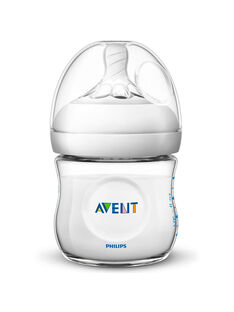 Biberon natural 125 mL Avent Philips BIB NAT 125 ML / 20PRR1004BIB999