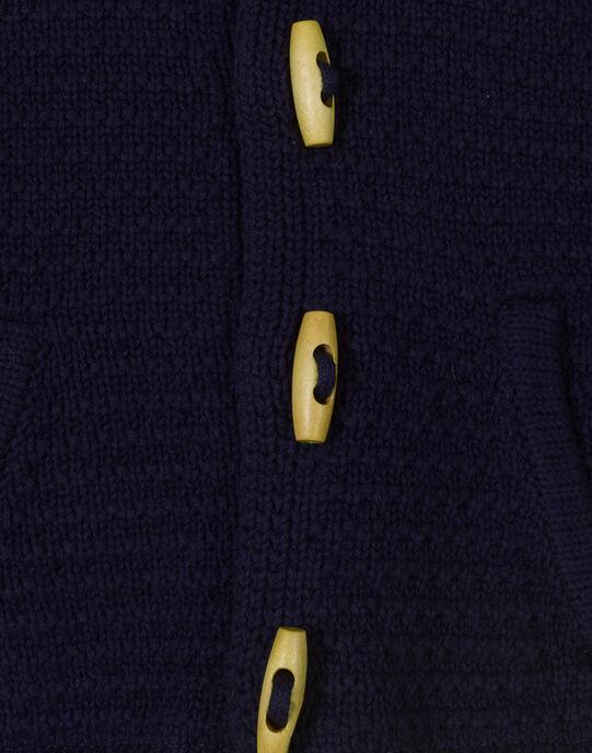 Veste à capuche indigo garçon TIMBRE 19 / 19VU2021N17703