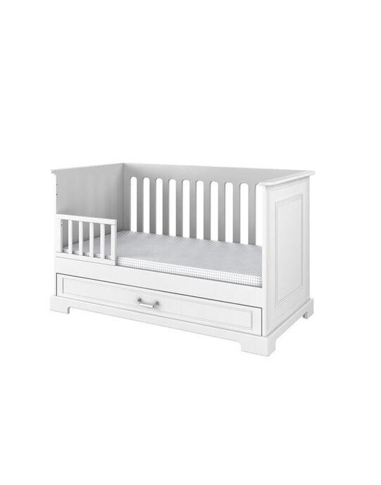Lit bébé Ines blanc 70x140 cm (0-7 ans) LIT INES 70B / 14PCMB011LBB000
