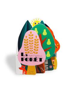 """Livre imagier """"La forêt"""" Marcel & Joachim 15,5x12,7x2,5 cm dès 2 ans IMAGIER LA FORE / 19PJME020LIB999"""