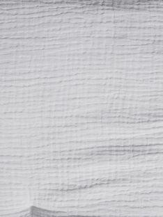 Tapis d'éveil gris clair en gaze de coton mixte QAPIS-EL / PTXQ6414N5AJ906