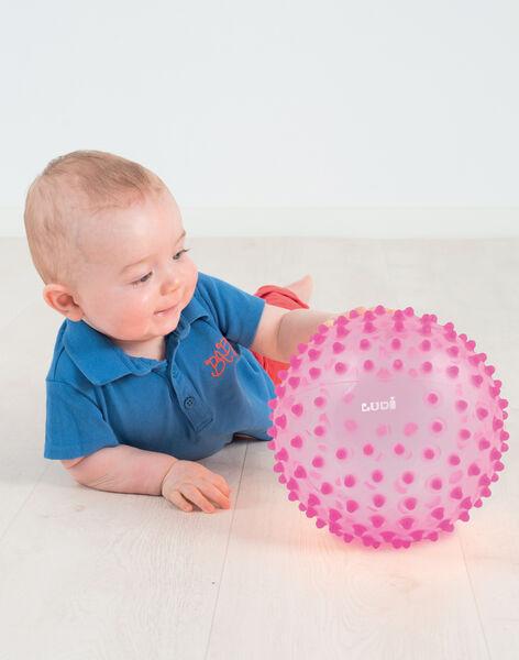 Balle sensorielle rose (dès la naissance) BALLE SENSO ROS / 13PJJO003AJV030