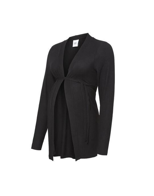 Cardigan de grossesse noir MLMONA CARDIGAN / 19VW2681N11090