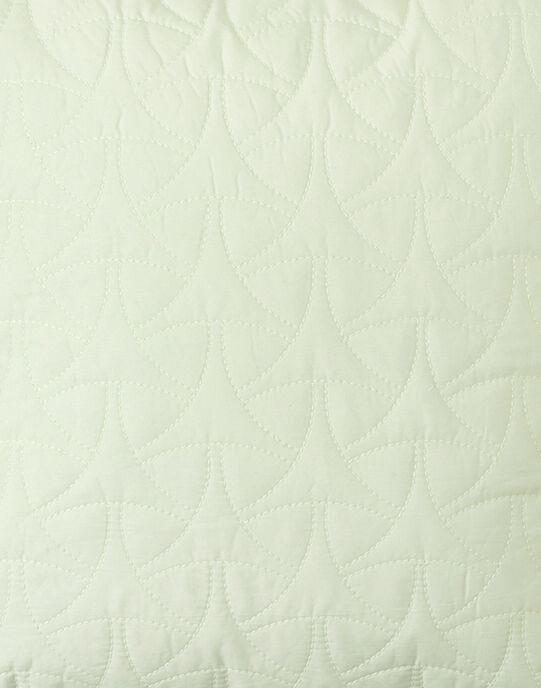 Housse de coussin vert pale matelassé mixte 40x40 cm  ALTAHIR-EL / PTXQ6412N87602