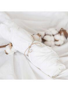 Drap housse jersey bio blanc 60x120 DRA HO BLA60120 / 21PCTE003DRA000