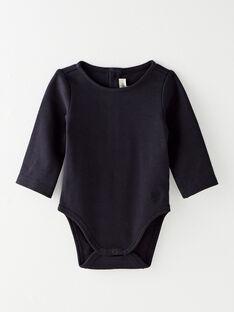 Body fille en interlock coton pima bleu nocturne  BALBA 20 / 20IV2251N67713